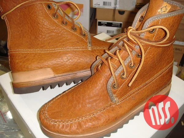 特價【NSS】VISVIM Platte Boots Hi Folk  靴子 M9.5 VIBRAM