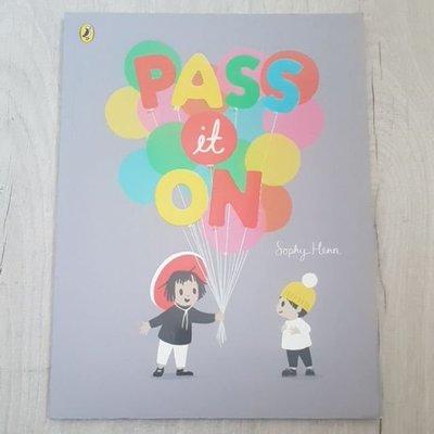 62折*二手童書*Pass it On*Sophy Henn*平裝繪本 英文繪本 故事書 床邊故事