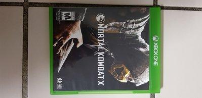 XBOX ONE 遊戲 真人快打 X Mortal Kombat X  英文版