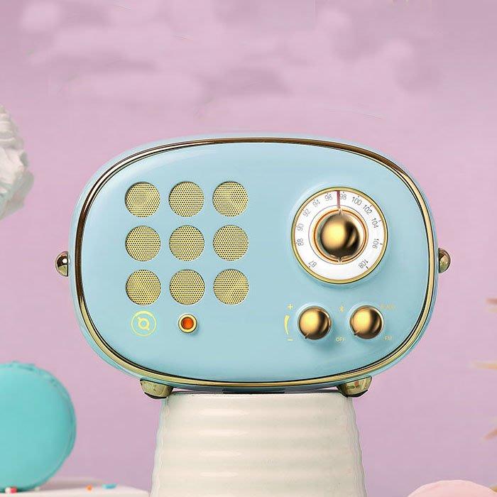5Cgo【鴿樓】含稅會員有優惠 556508498920 貓王收音機 PP101BU radiooo波普藍藍牙音箱音響複