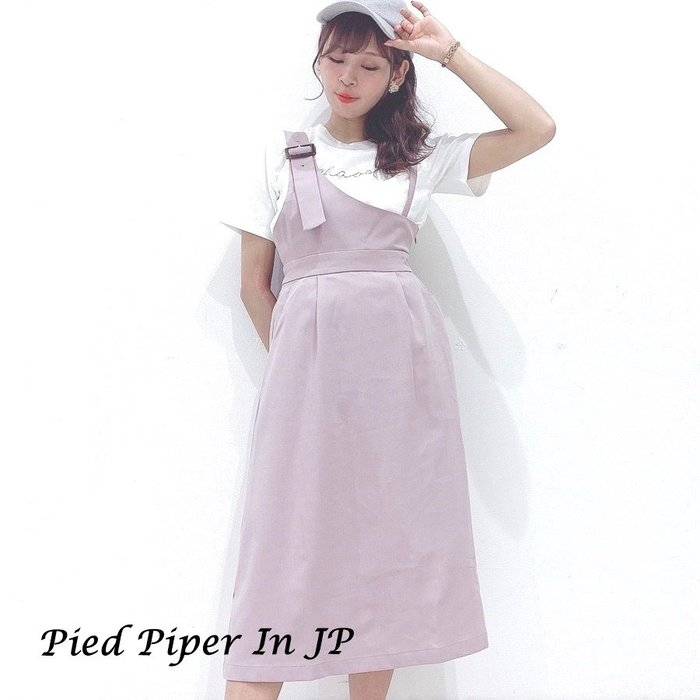 Pied Piper日本代購 BJ091 MAJESTIC LEGON不對稱肩帶背心裙