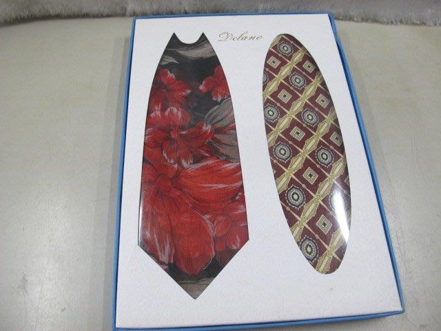 二手舖 NO.4412 多款式領帶 手打領帶 1盒2條 絲質 全新