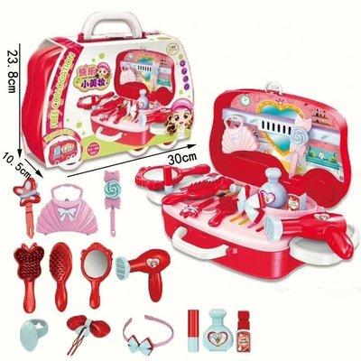 過家家手提箱快樂小美妝女孩趣味益智玩具商品檢驗標識 : 有請放心購買 (歐盟CE認證)