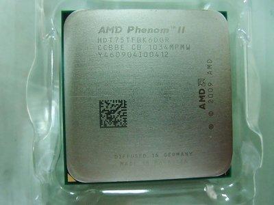 【含稅】AMD Phenom II X6 1075T 3.0G  HDT75TFBK6DGR 125W 正式CPU一年保