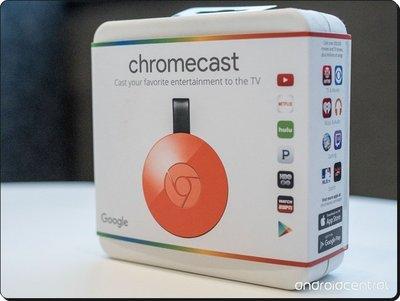 紅色現貨 ※台北快貨※美國原裝 Google Chromecast II 2.0 谷歌二代影音串流主機, 也有Ultra