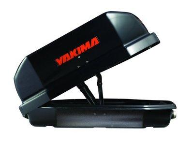 阿勇車頂行李箱 雙邊開 YAKIMA天空行李箱 黑色卡夢碳纖紋路 600公升 Skybox 21S CarBonite