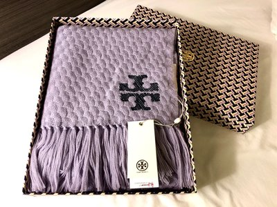 Tory Burch whipstitch scarf 圍巾