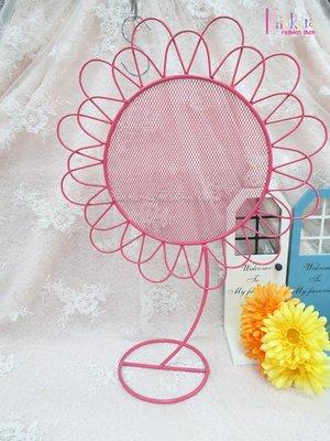 ☆[Hankaro]☆創意鐵藝太陽花造型耳環架(樣品出清)