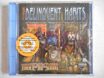 Delinquent Habits - Merry Go Round 進口美版