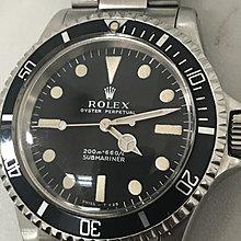 Rolex Submariner 5513 meter first, mint condition