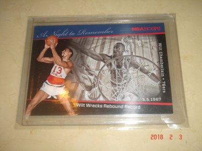 美國職籃 NBA 76ers Wilt Chamberlain 2012 Panini #8 球員卡
