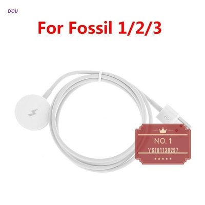Fossil Q Gen 2 Founder Gen 3 Explorist的手錶充電器充電底座電纜[NO.1]