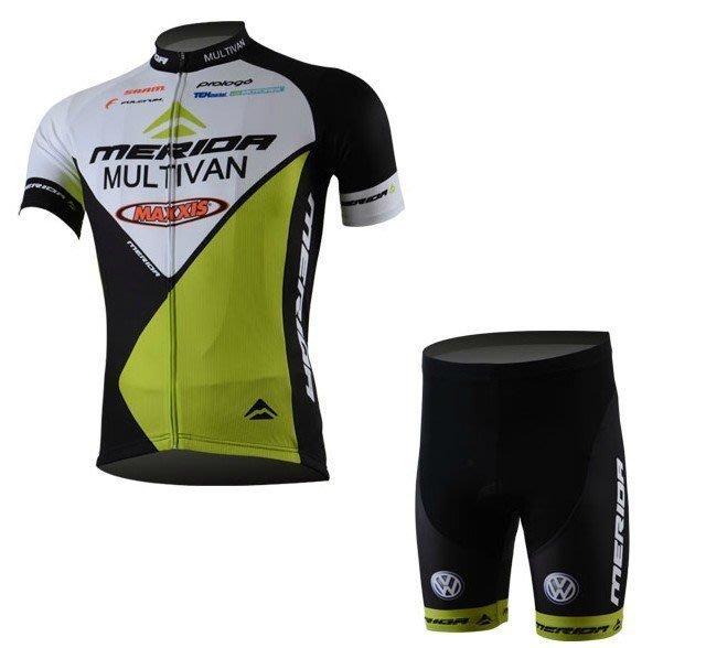 【綠色運動】13款美利達MERIDA環法版 腳踏車服 騎行服自行車車衣 短袖短褲 車衣車褲短套裝