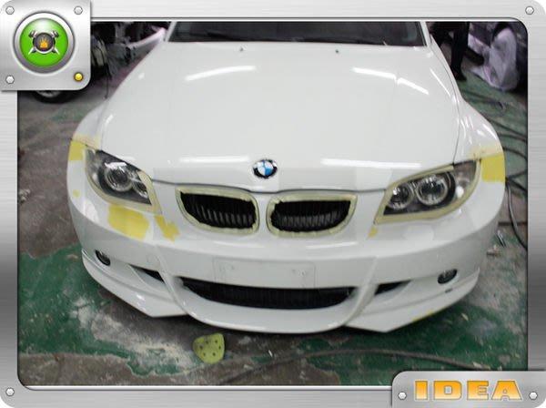 泰山美研社5853 BMW 寶馬 E87 1系列 M版 前保桿客製改裝 120 135 116 118