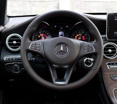 賓士BENZ全系通用A/B/C/E/S原廠帶支拄 方向盤標 方向盤中心貼標 氣囊中心標方向盤車標誌