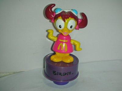 aaL皮商旋.(企業寶寶玩偶娃娃)少見2003年麥當勞發行大鳥姐姐!--距今已有15年歷值得收藏!