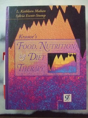 A3☆1996年『Krause's Food, Nutrition and Diet Therapy』Saunders著《Sylvia Escott-Stump》