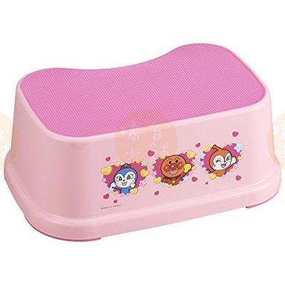 【橘白小舖】 (日本製)日本進口 麵包超人 粉色 浴室椅 洗澡 防滑墊腳椅 小椅子 墊高 廚房 增高 洗手檯 台中市