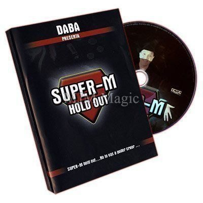 【意凡魔術小舖】超級紙牌來去無蹤 ~ SUPER-M HOLD OUT ~ 強力推薦!~魔術道具撲克牌魔術