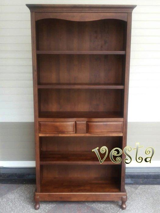 *Vesta 維斯塔*實木開放式書櫃
