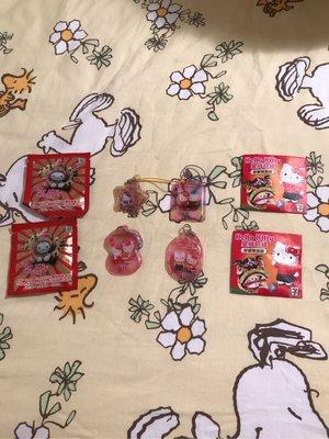 7-11 Hello Kitty 星肖奇緣電話繩鎖匙扣