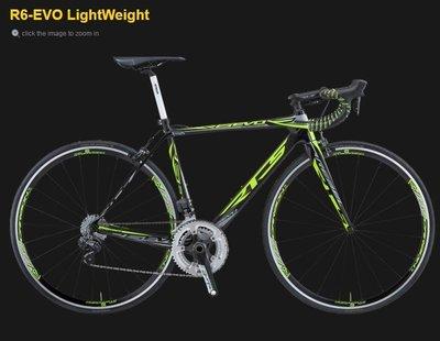 [榮泰自行車] 西班牙 RTS TTR6-EVO LightWeight 碳纖維公路車架前叉組