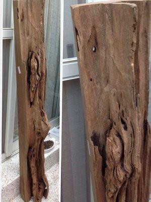 【123木頭人】柳安風化造型木一件---02