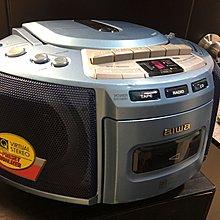 日本AlWA愛華微型卡拉CD收音機三合一播放機(正常)