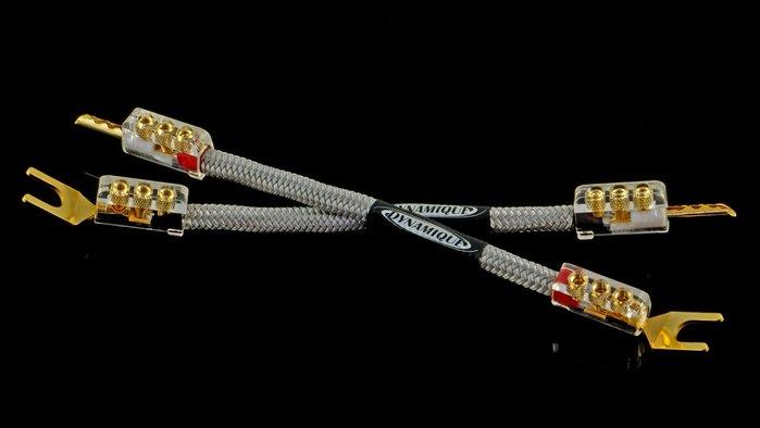 來電優惠【音逸音響】喇叭跳線 Bi-wire Jumpers.銀線》Dynamique Halo 2 跳線(4條1組)