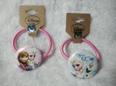 冰雪奇緣Frozen Anna & Elsa鬆緊帶髮圈 Disney韓國新款兒童髮飾免運(正品Disney雷射標)