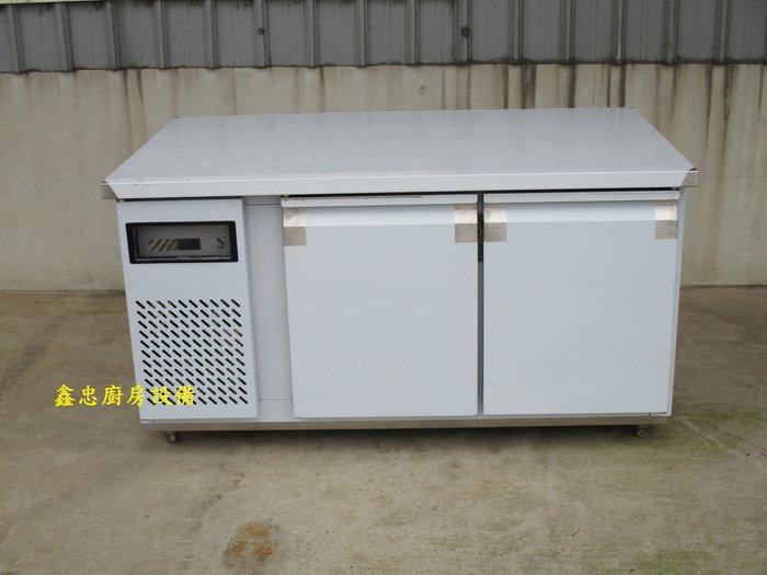 鑫忠廚房設備-餐養設備:手工冰箱系列-訂做工作檯插盤麵團冰箱-賣場有-西餐爐-烤箱-水槽-快炒爐