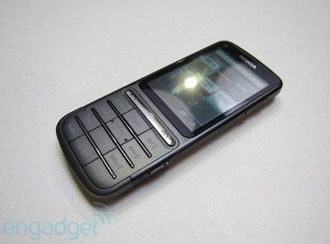 『皇家昌庫』Nokia C3-01 觸控+超大按鍵 500萬畫素 不銹鋼金屬機身 盒裝 歐洲產地 銀/黑
