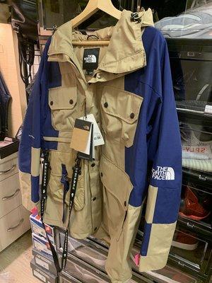 全新公司貨 The North Face UE 黑標 倉石一樹「KAZUKI PINK 」 工裝多口袋防風外套 L號