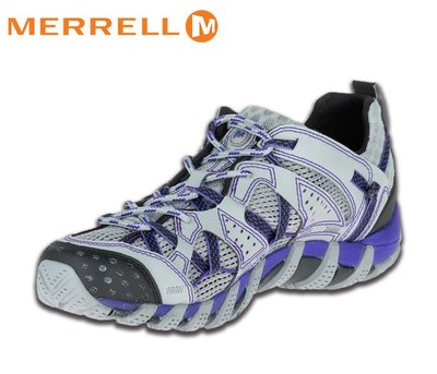丹大戶外 美國【MERRELL】WATERPRO MAIPO 女款多功能水陸兩用運動鞋 03080 淺灰/紫