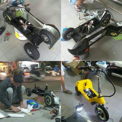 電動折疊滑板車.兒童電動車-全套(電機、套件、零件、配件、電池)零售 更換 維修!實體店面現場維修