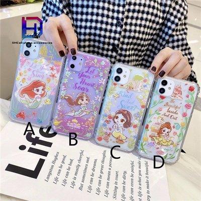 【現貨iphone12手機殼】美人魚 白雪公主適用於iPhone11  XR XS I7 I8 PLUS 矽膠防摔手機殼