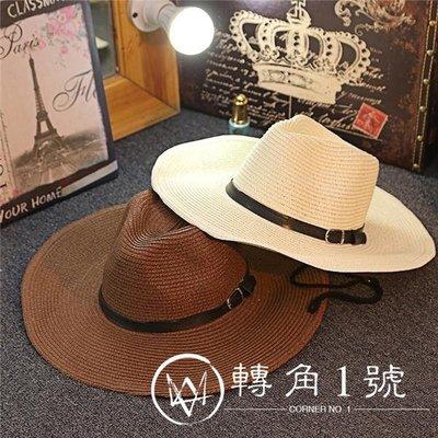 防曬夏天男士草帽可折疊牛仔帽戶 小倉庫