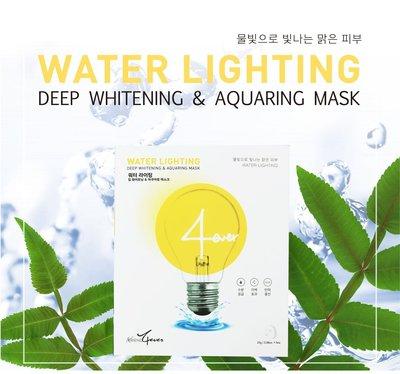 ⭐️日常保養⭐️韓國4EVER透亮水光保濕亮白款面膜(單片)