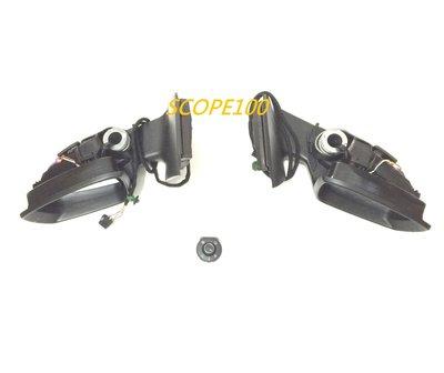 Polo 6R 歐規LED 方向燈款摺疊後視鏡總成-另有Golf 6 7 Touran