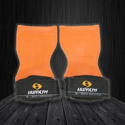 HURACAN 專業級重量訓練健身拉力帶-亮橘