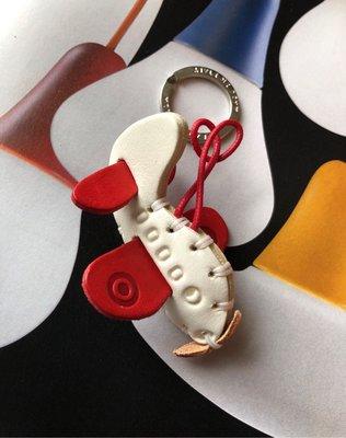 Made in Italy 義大利??手工製作皮製鑰匙圈