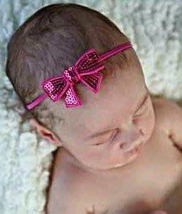 HM嬰幼館【Q241】 2015 兒童髮帶新生兒嬰兒寶寶髮帶女童女寶公主滿月百日週歲拍照攝