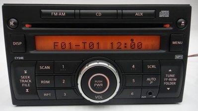 震撼立~clarion 歌樂旺 標準2DIN CD/AUX IN FM/AM主機 適用K9 Tiida Livina NISSAN