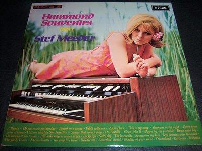 LP黑膠唱片-HAMMOND SOUVENIRS(DEEK 1).STEF MEEDER/荷蘭版