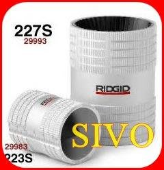 ☆SIVO電子商城☆美國 RIDGID 227S不銹鋼管 刮刀(圓筒型) 特級白鐵管 銅管 絞刀 12mm-54mm