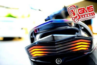 GAMMAS-HID 台中廠 勁戰 三代 GMS R3 導光LED尾燈 跑馬 流星方向燈  非仿BMW KOSO