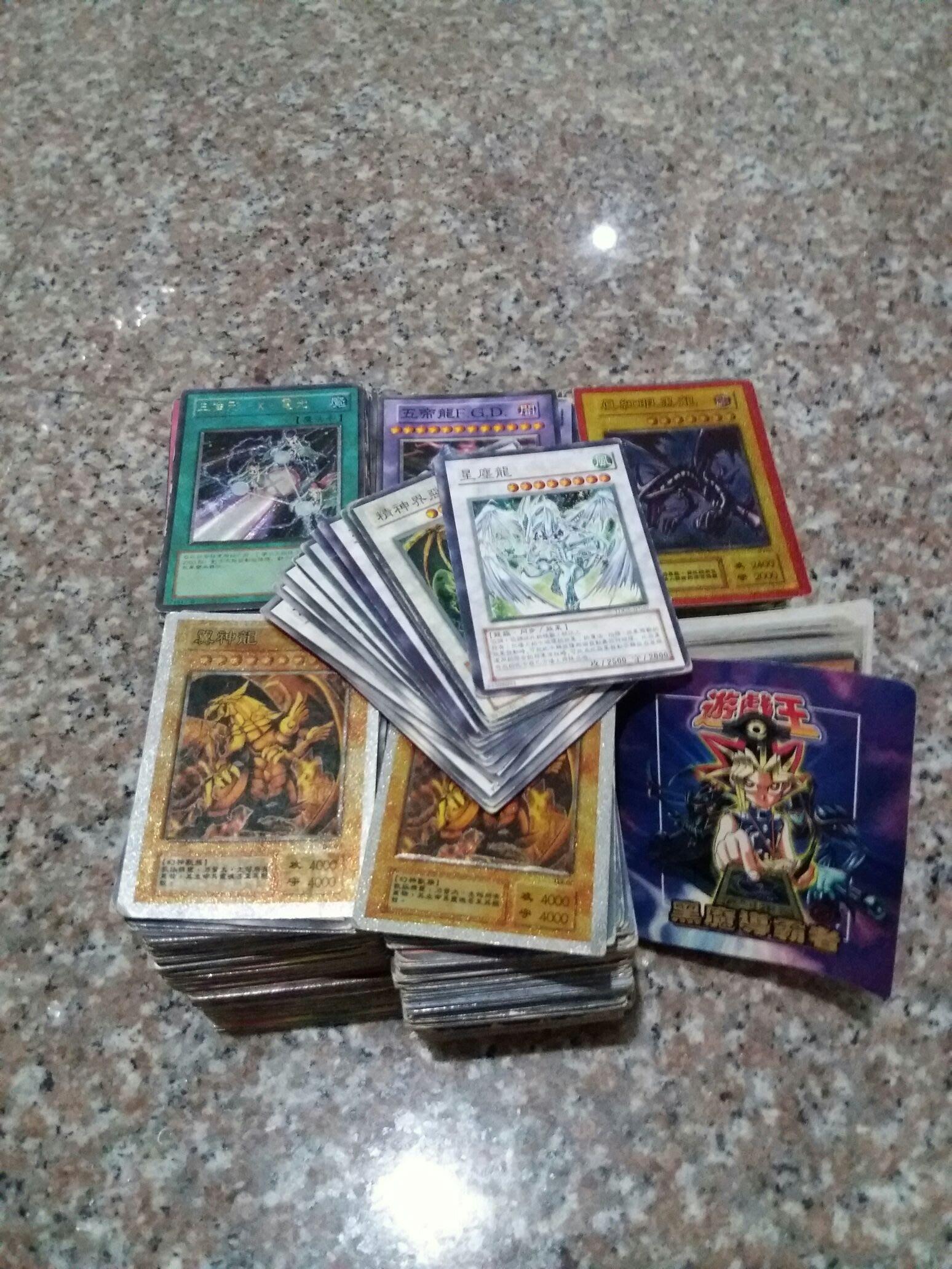遊戲王卡(以張數計價錢)