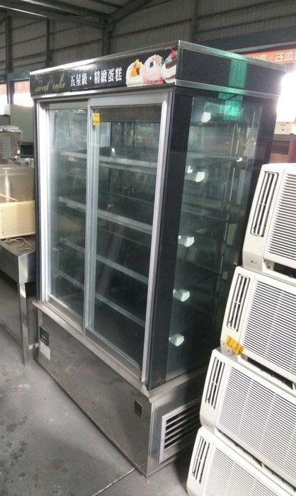 大高雄冠均二手貨家具---KINCO直角冷藏櫃   金格落地型直角蛋糕櫃    玻璃冰箱    展示冰箱  別錯過