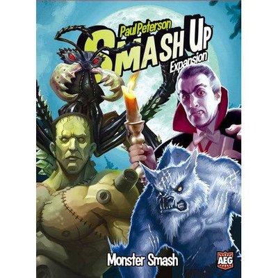 大安殿實體店面 Smash Up Monster Smash Expansion 你爭我奪 怪物狂砸 擴充 正版桌遊