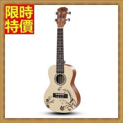 烏克麗麗 ukulele-21吋澳大利亞紅松木合板夏威夷吉他四弦琴樂器5款69x33[獨家進口][米蘭精品]